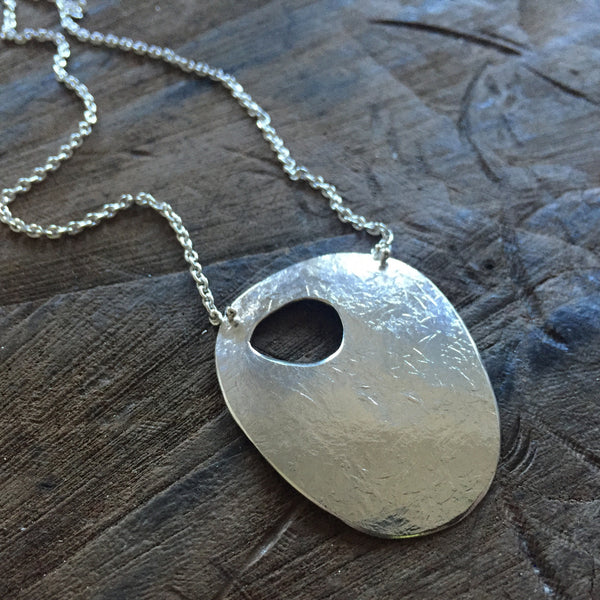 Eroded Pebble Necklace