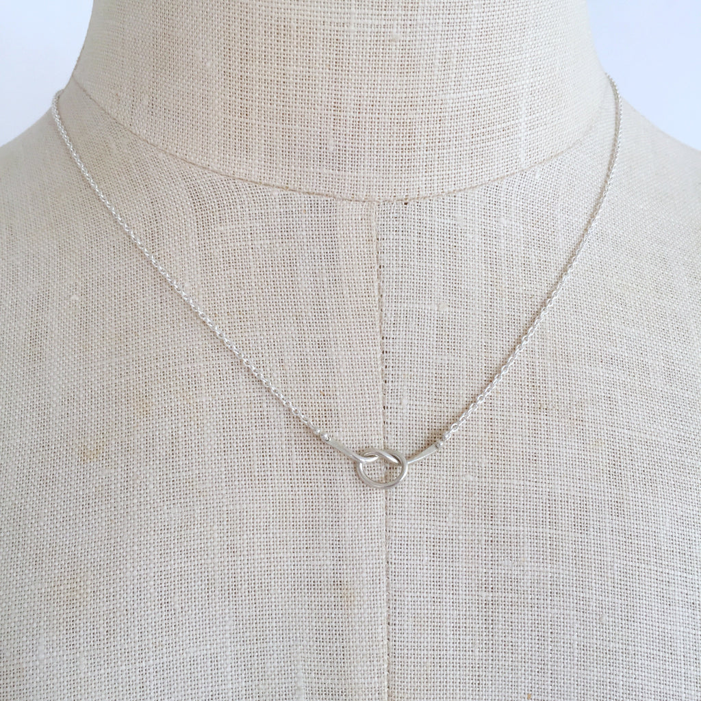 Loveknot necklace