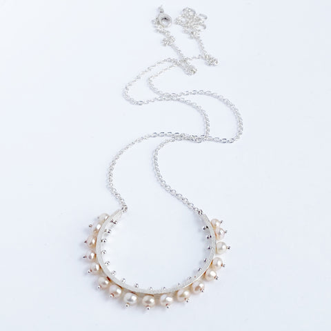 Radiant Pearl Necklace- large