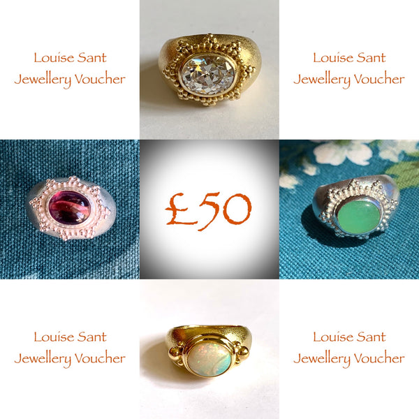 Louise Sant Jewellery Voucher £50