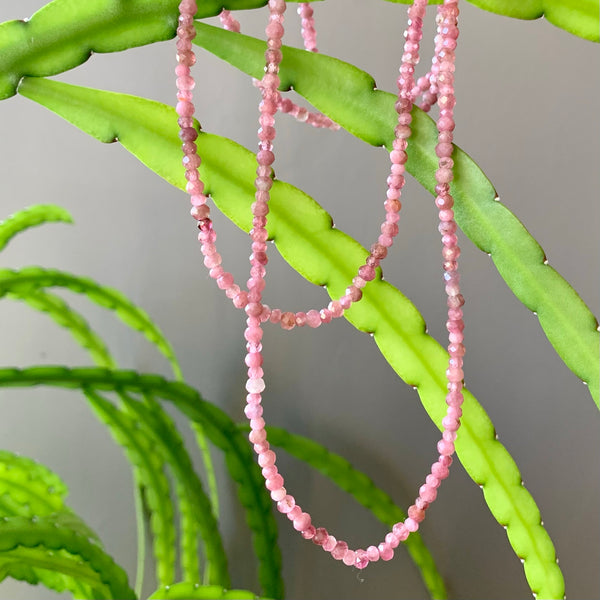 Tourmaline Necklace - Grade A Pink