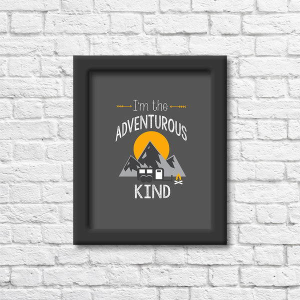 The Adventurous Kind Art Print Art Print Blue Orchid Designs