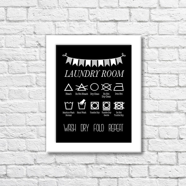 Laundry Room Art Print