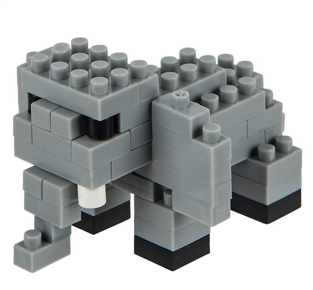 MINI BLOCKS ELEPHANT