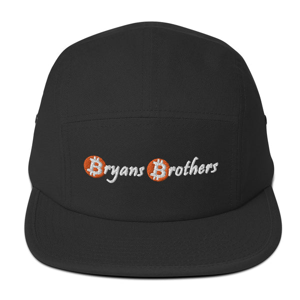 Bitcoin B's Five Panel Hat