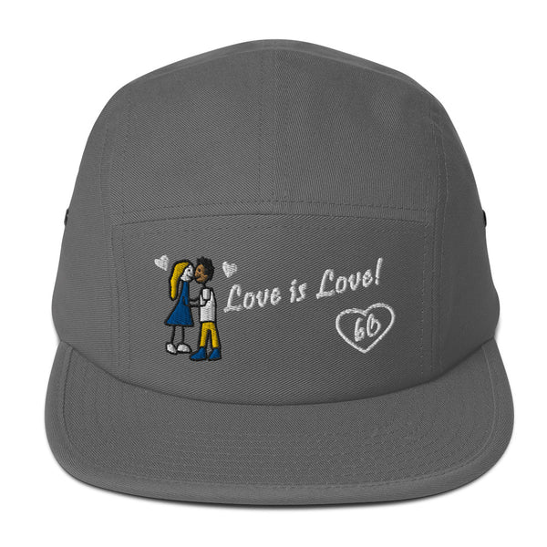 Love Is Love Five Panel Hat