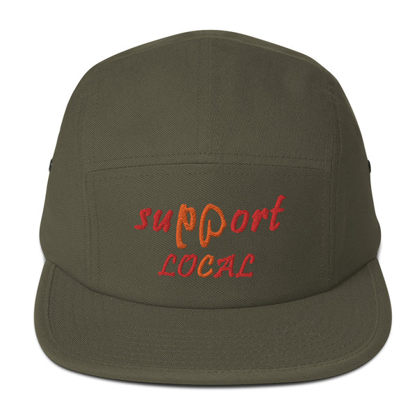 Support Local Five Panel Hat