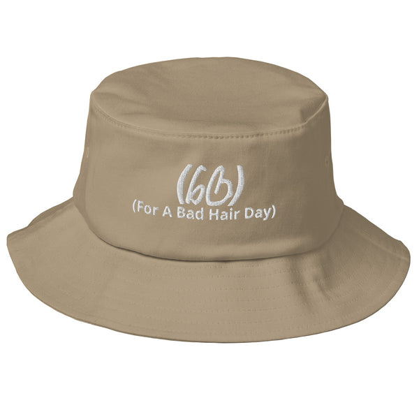 (For A Bad Hair Day) Old School Bucket Hat