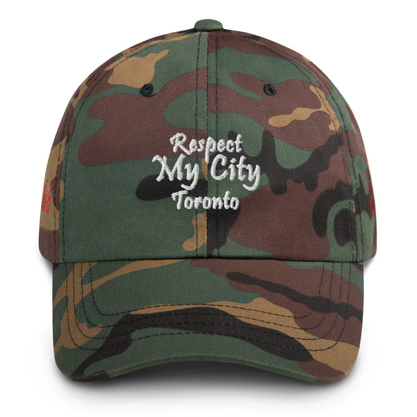 Respect My City Toronto Dad Hat