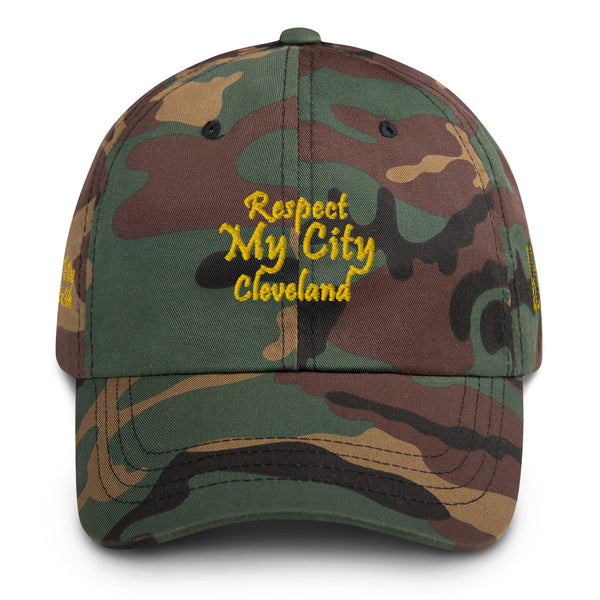 Respect My City Cleveland Dad Hat