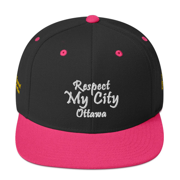 Respect My City Ottawa Rae Gourmet Collection Snapback Hat