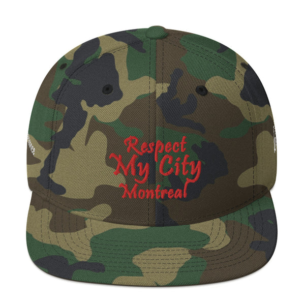 Respect My City Montreal Snapback Hat