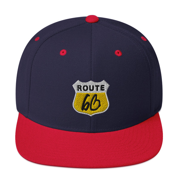ROUTE bb Snapback Hat