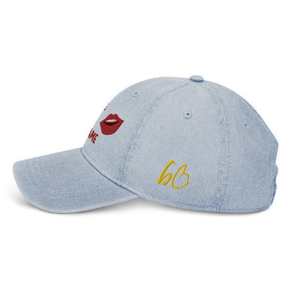 Put Some Respect On My Name Denim Hat