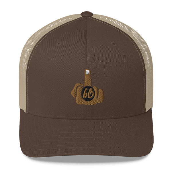 Middle Finger To The World Trucker Hat