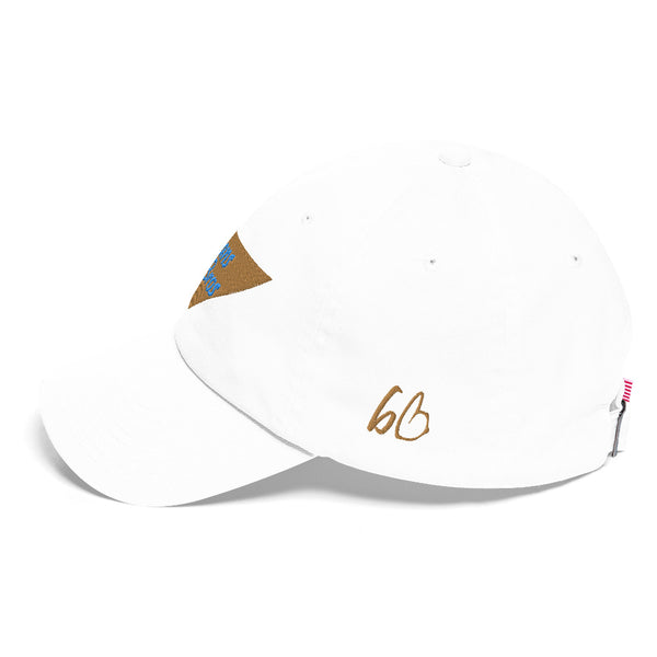 Upside Down Triangle Bryans Bros Logo Cotton Dad Hat