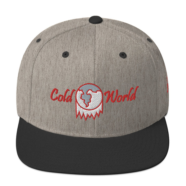 Cold World Snapback Hat