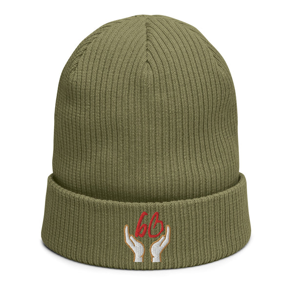 bb In Good Hands Organic Ribbed Beanie