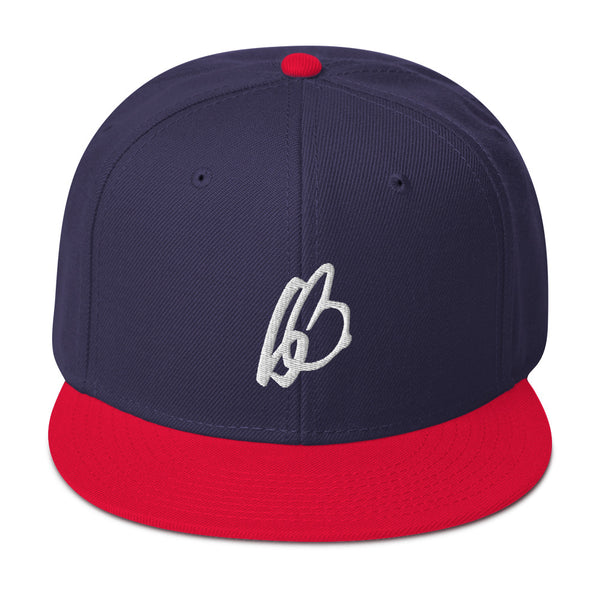b On b Logo Snapback Hat