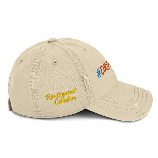 #DRIPPY Rae Gourmet Collection Distressed Dad Hat