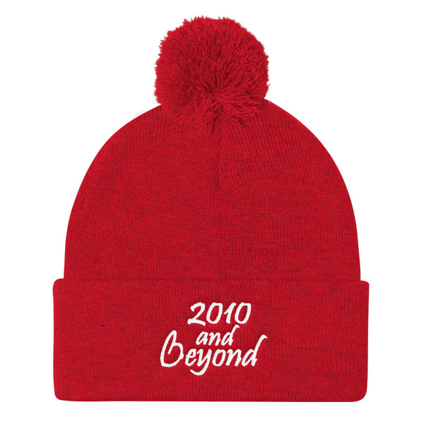 2010 And Beyond Pom Pom Knit Beanie