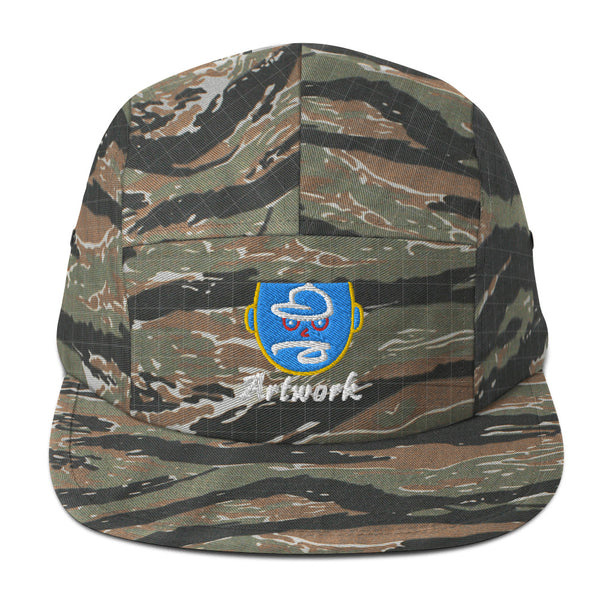 bb Artwork Five Panel Hat