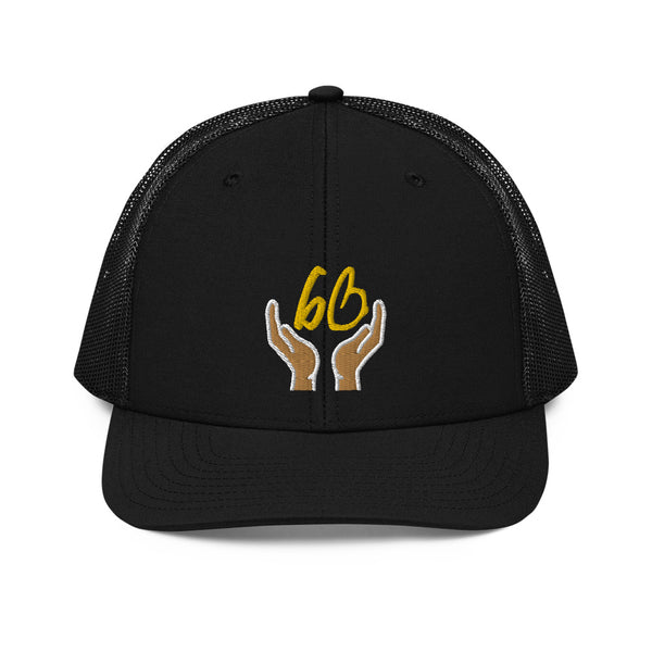 bb In Good Hands Trucker Hat