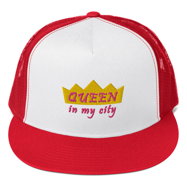 Queen In My City Trucker Hat