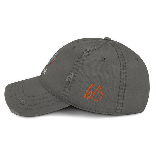 bb Artwork Distressed Dad Hat