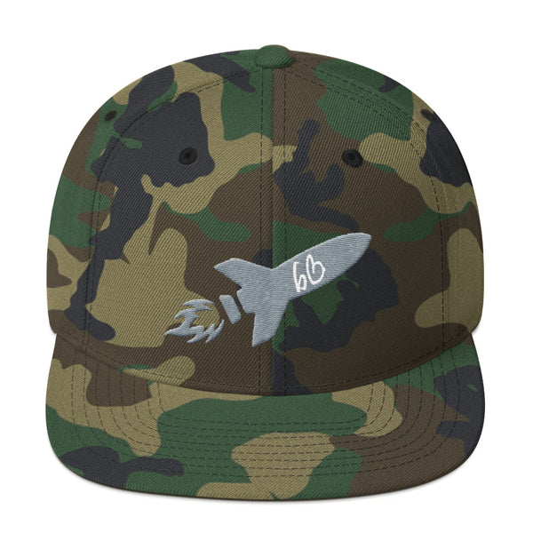 bb Rocket Logo Snapback Hat