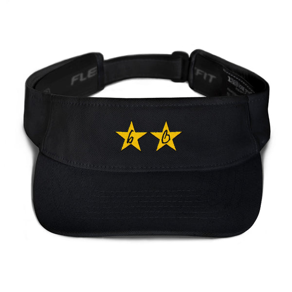 bb Gold Stars Flexfit Visor
