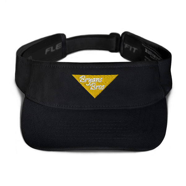 Upside Down Triangle Bryans Bros FlexFit Visor