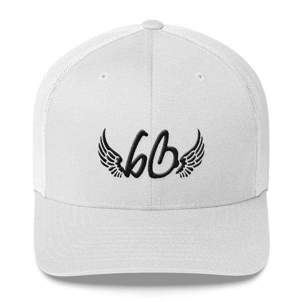 bb With Angel Wings Trucker Hat