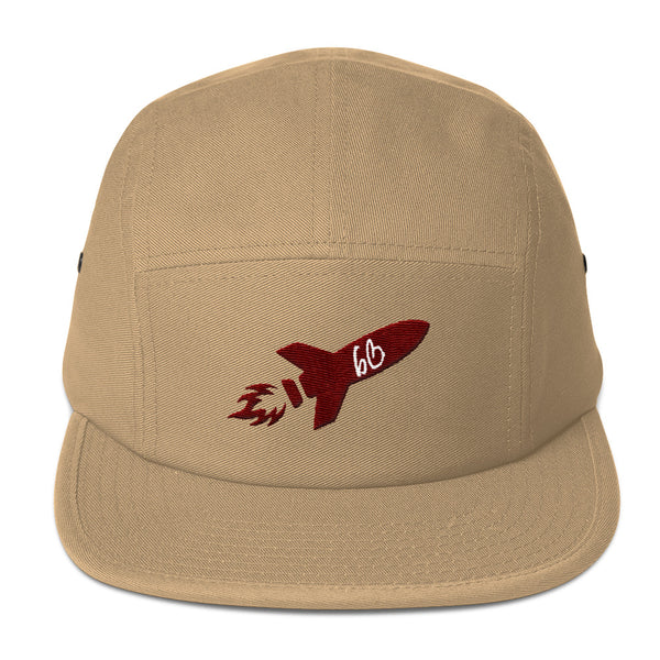 bb Rocket Logo Five Panel Hat
