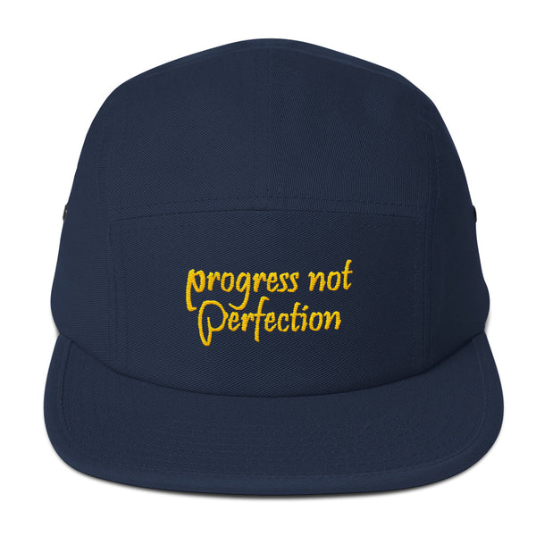 Progress Not Perfection Five Panel Hat
