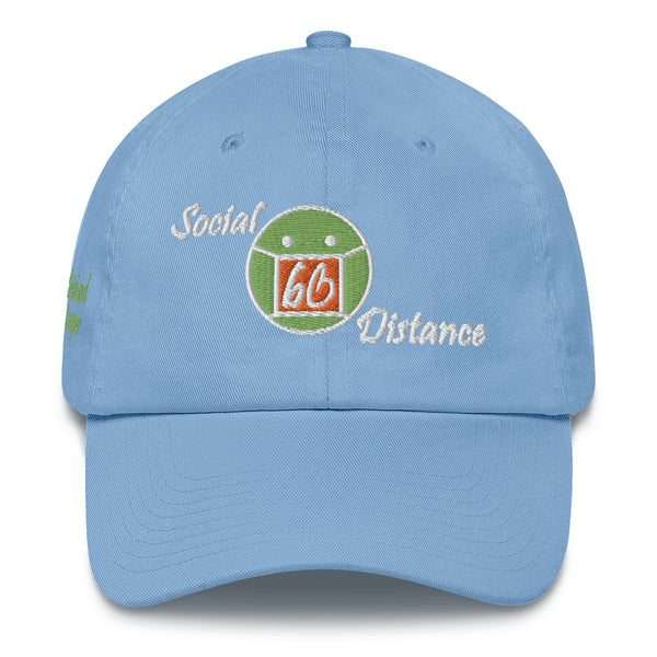 Social Distance Cotton Dad Hat