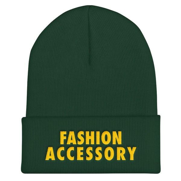Fashion Accessory Cuffed Beanie
