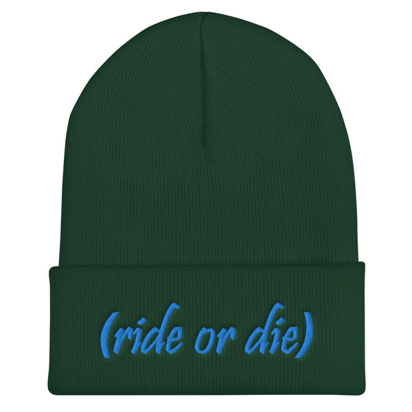 Ride Or Die Cuffed Beanie