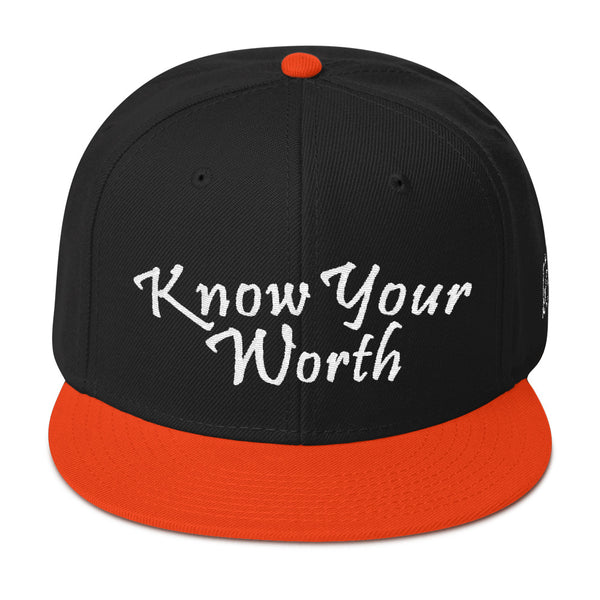 Know Your Worth Snapback Hat