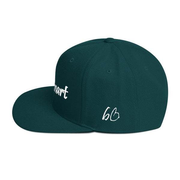 Hustle Smart Snapback Hat
