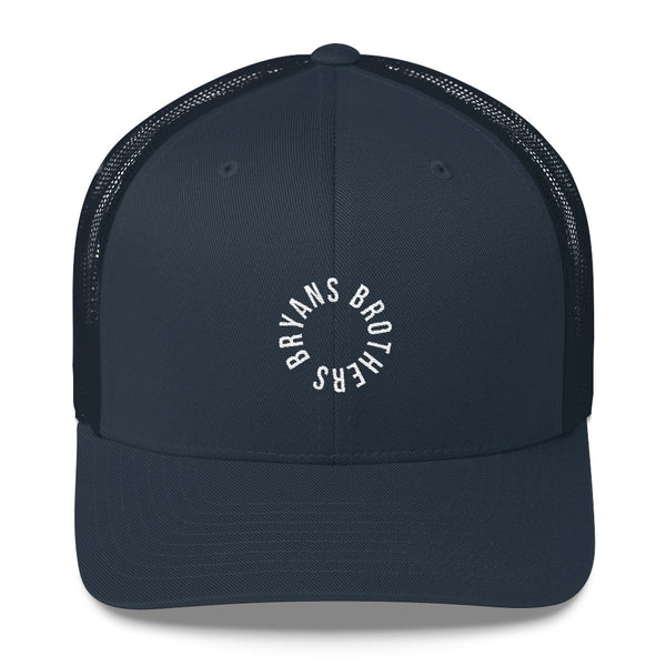 Bryans Brothers Circle Logo Trucker Hat