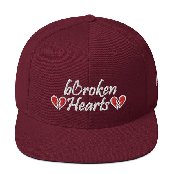 Broken Hearts Snapback Hat