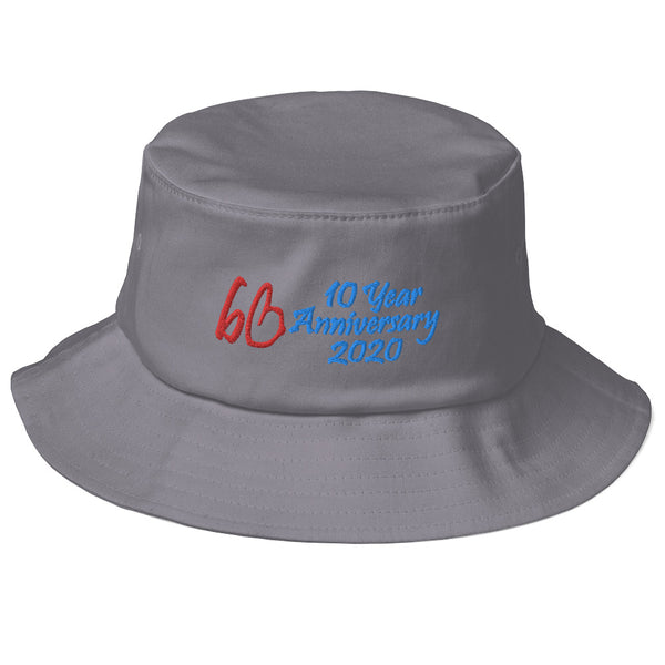 bb 10 Year Anniversary 2020 Old School Bucket Hat