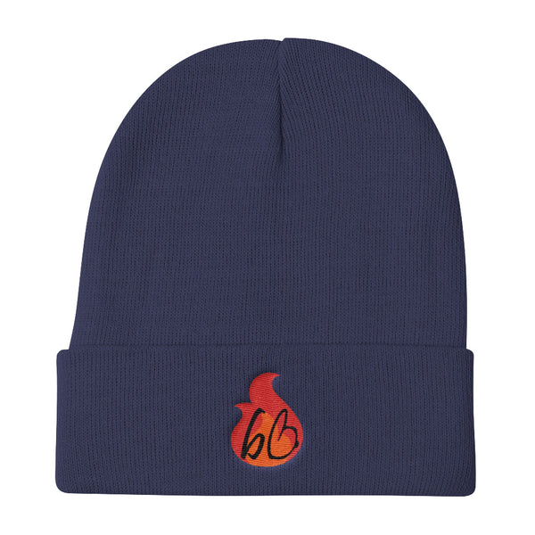 bb In A Flame Knit Beanie