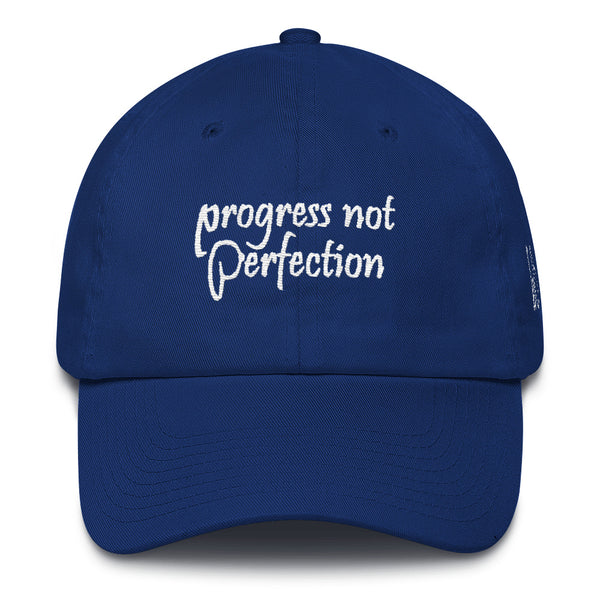 Progress Not Perfection Cotton Dad Hat