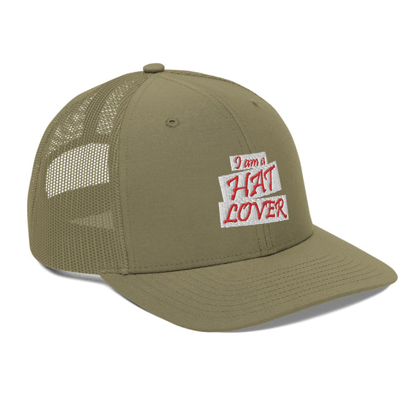 I Am A Hat Lover Trucker Hat