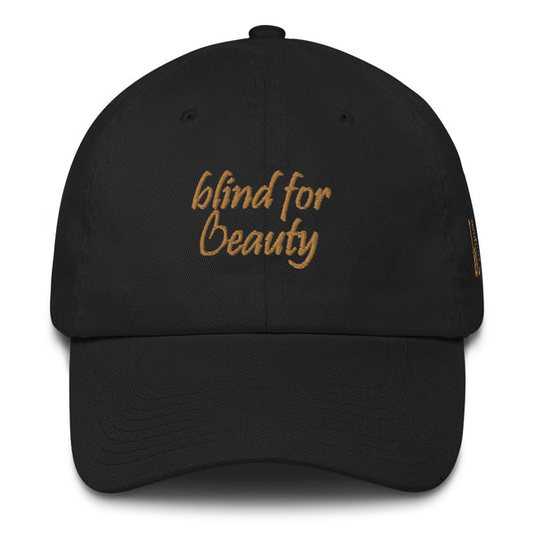 Blind For Beauty Cotton Dad Hat