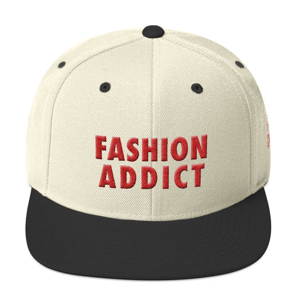 Fashion Addict Snapback Hat