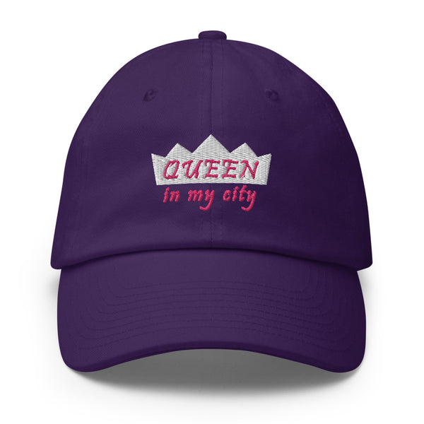 Queen In My City Cotton Dad Hat