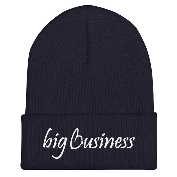 Big Business Cuffed Beanie